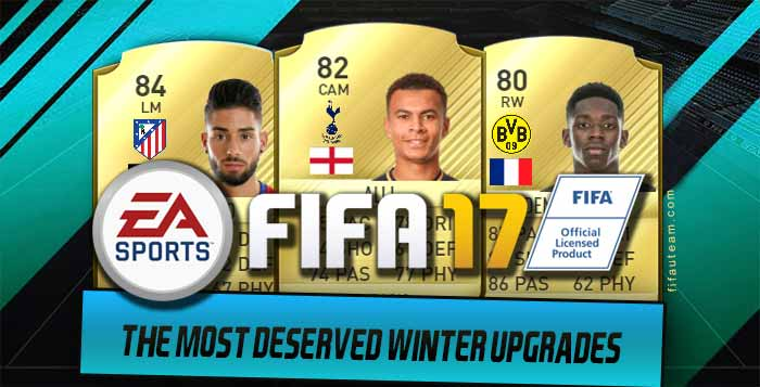 the most deserved fifa 17 winter upgrades chosen by the. Black Bedroom Furniture Sets. Home Design Ideas