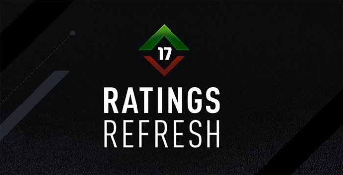 FIFA 17 Ratings Refresh - FIFA 17 Winter Upgrades and Downgrades