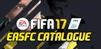 FIFA 17 EAS FC Catalogue Guide