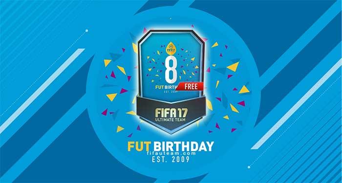 FIFA 17 FUT Birthday 8th Anniversary Guide & Offers