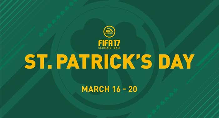 FIFA 17 St Patricks Day Guide & Updated Offers