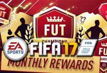 FIFA 17 FUT Champions Monthly Rewards Dates