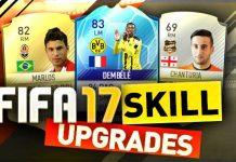 FIFA 17 Skill Upgrades
