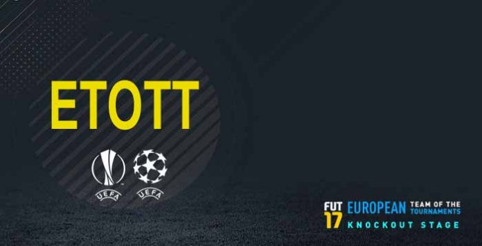 FIFA 17 ETOTT - European Team of the Tournaments Knockout Stage