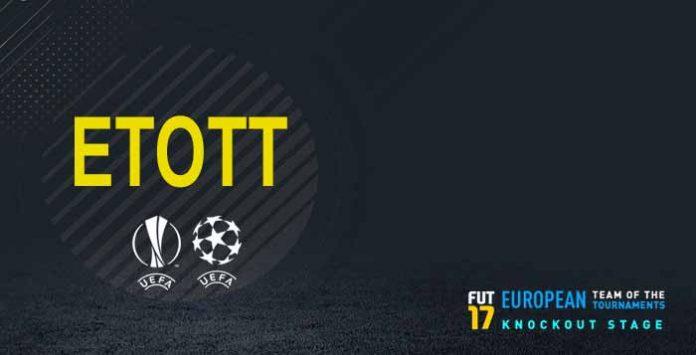 FIFA 17 ETOTT - European Team of the Tournaments Knockout Stage