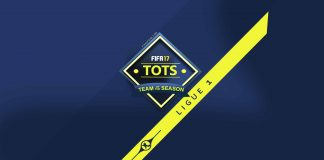 FIFA 17 Ligue 1 Team of the Season