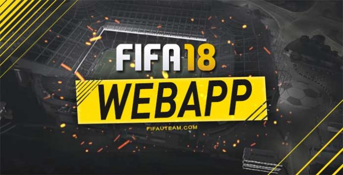 FIFA 18 Web App Release Date, Access, Offers and FUT Webstart Details