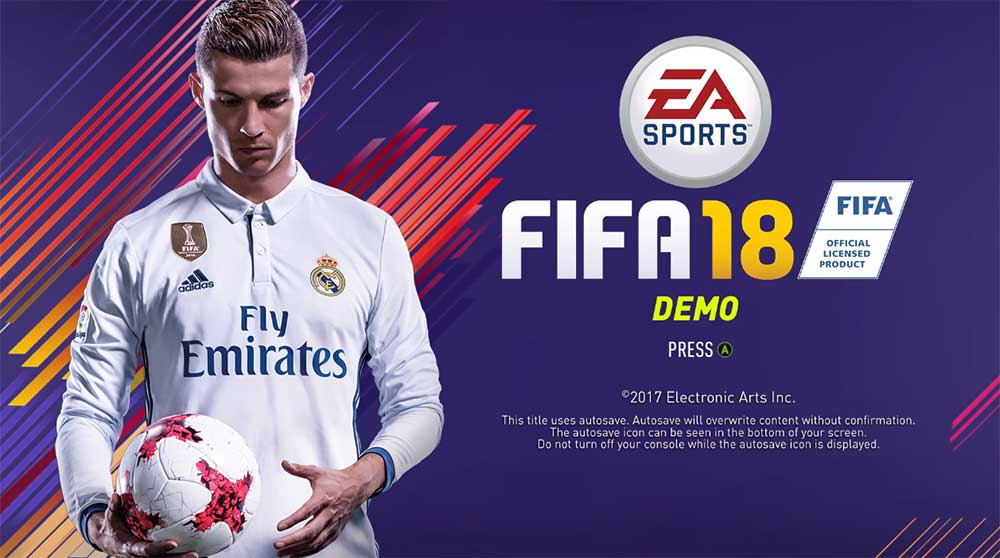 Demo de FIFA 18 - Datas, Equipas, Modos de Jogo e Download