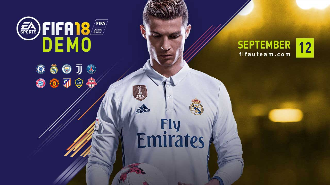 FIFA 18 Demo Guide - Release Date, Teams, Download and More