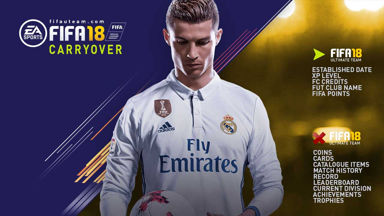 FIFA 18 Carryover Transfer Guide for FIFA Ultimate Team