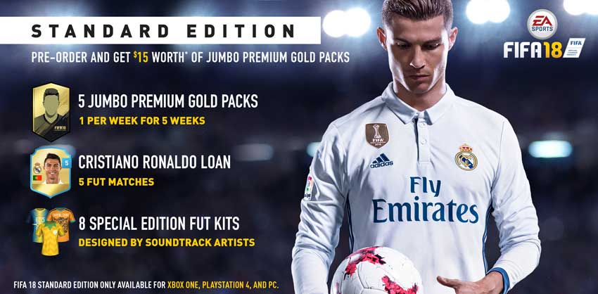 Guide to Buy FIFA 18 - Prices, Stores, Editions, Dates & More