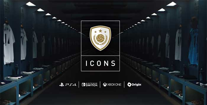 FIFA 18 Icons Players List