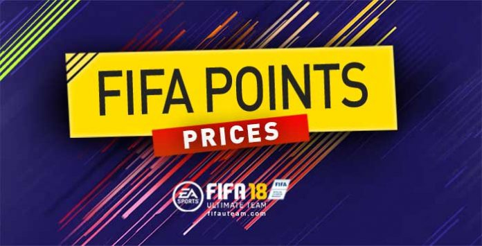 FIFA Points Prices for FIFA 18 and Packs Prices