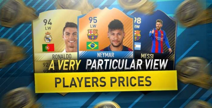 Price of FIFA Players - A Very Particular Look