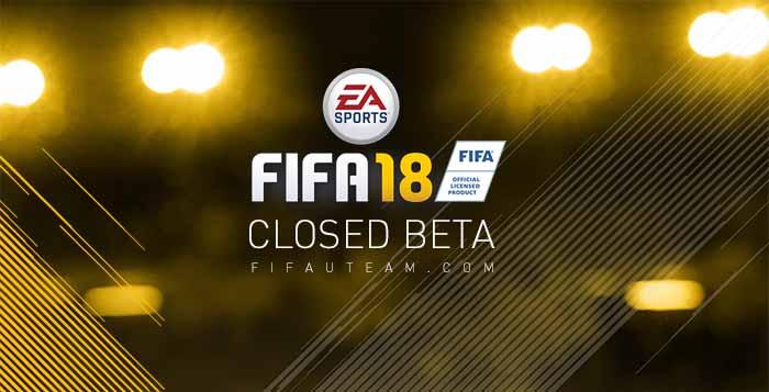 FIFA 18 Beta Testing
