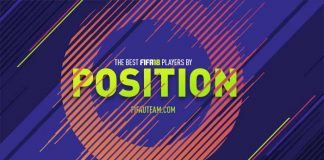 The Best FIFA 18 Players by Position