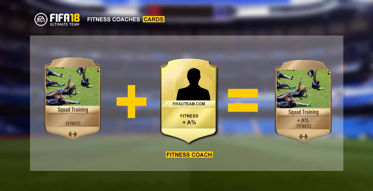 FIFA 18 Fitness Coaches Cards Guide for FIFA 18 Ultimate Team