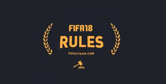 FIFA 18 Rules - Rules of Conduct & Penalties
