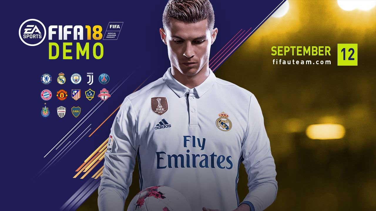 FIFA 18 demo release September 12