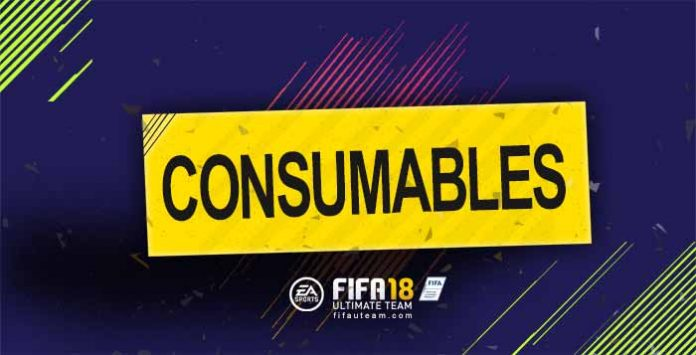FIFA 18 Consumables Cards Guide
