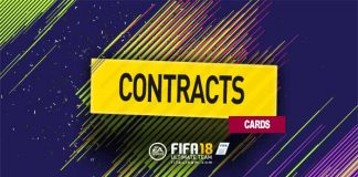 FIFA 18 Contract Cards Guide