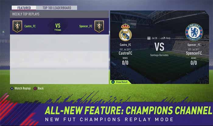 FUT Champions News and Updates for FIFA 18 Ultimate Team