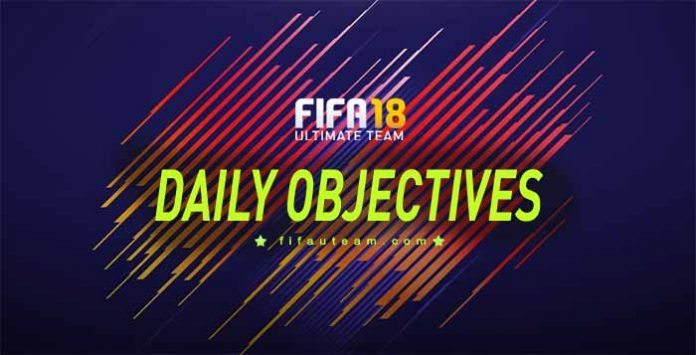 FIFA 18 Daily Objectives List and Rewards