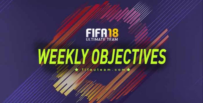 FIFA 18 Weekly Objectives Calendar and Rewards