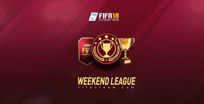 FIFA 18 Weekend League Calendar