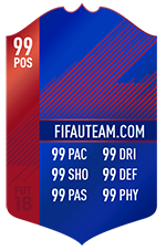 Cartas de Jogadores para FIFA 18 Ultimate Team - Record Breaker Cards