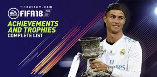FIFA 18 Achievements and Trophies - List for all Platforms
