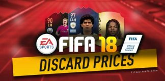 FIFA 18 Quick Sell Prices - Discard Prices for FUT 18