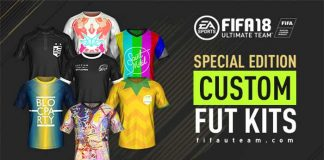 Custom Kits for FIFA 18 Ultimate Team