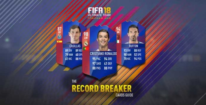 FIFA 18 Record Breaker Cards Guide