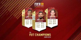 FIFA 18 FUT Champions Cards Guide