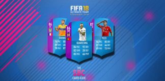 FIFA 18 Squad Building Challenges Cards Guide