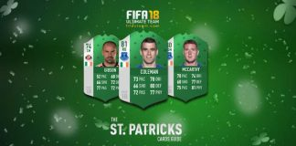 FIFA 18 Green Cards Guide - FUT 18 St Patricks Cards