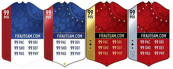 FIFA 18 Players Cards Guide - World Cup Cards