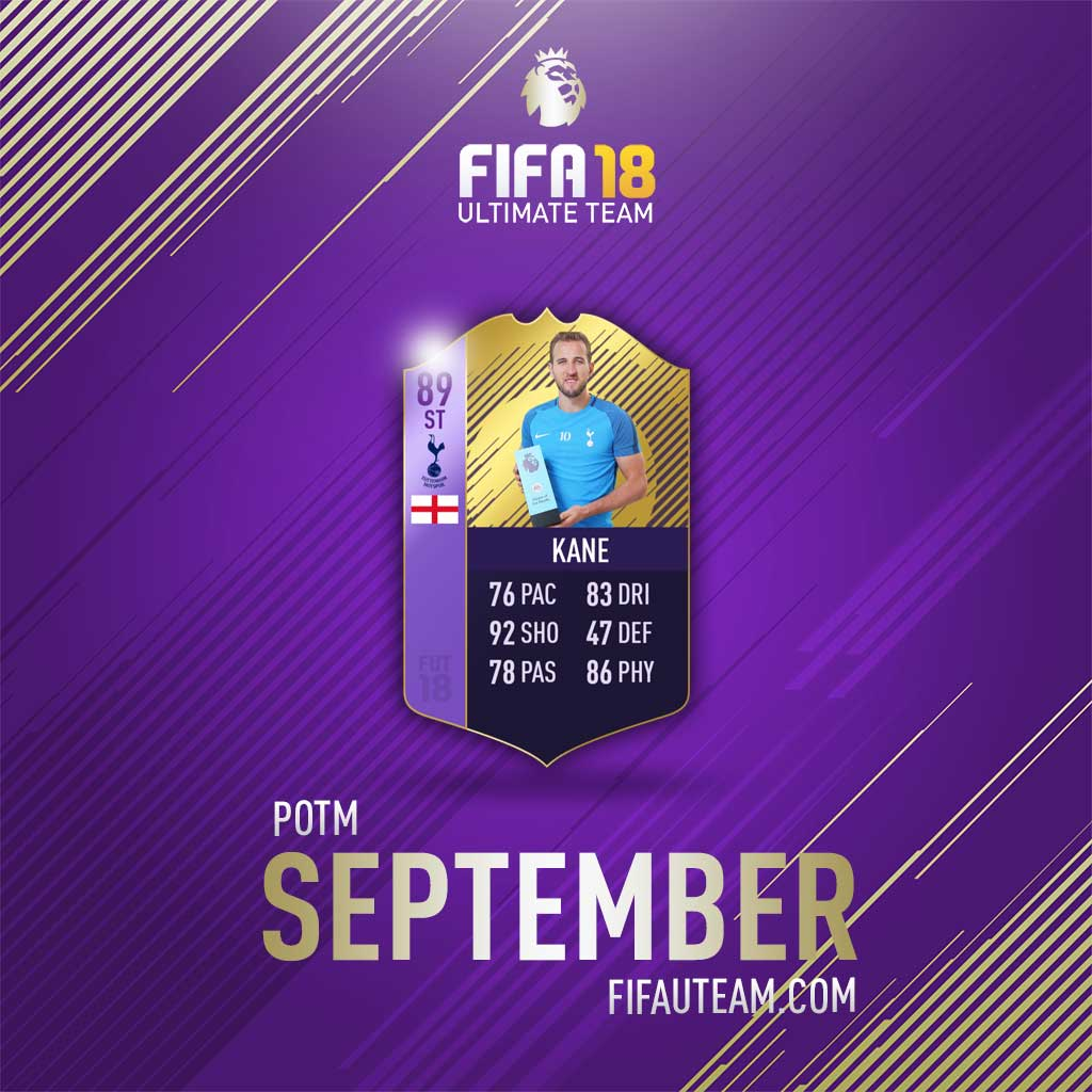FIFA 18 Premier League Player of the Month - All FIFA 18 POTM Cards