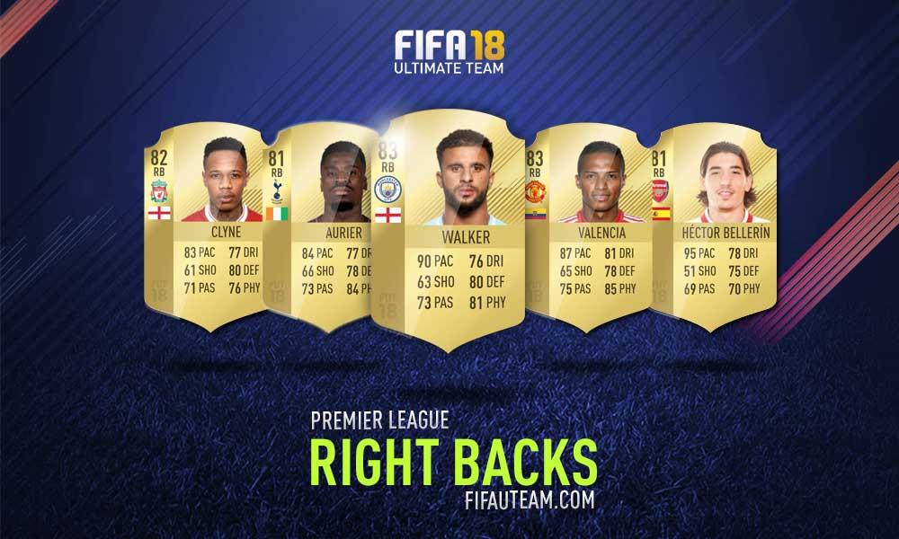 FIFA 18 Premier League Squad Guide - RB