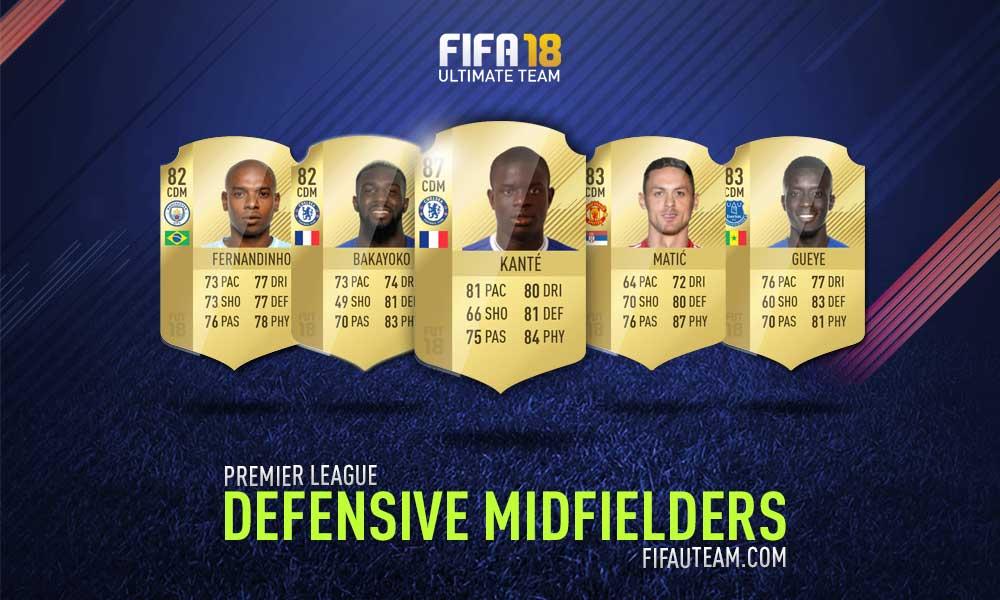 FIFA 18 Premier League Squad Guide - CDM