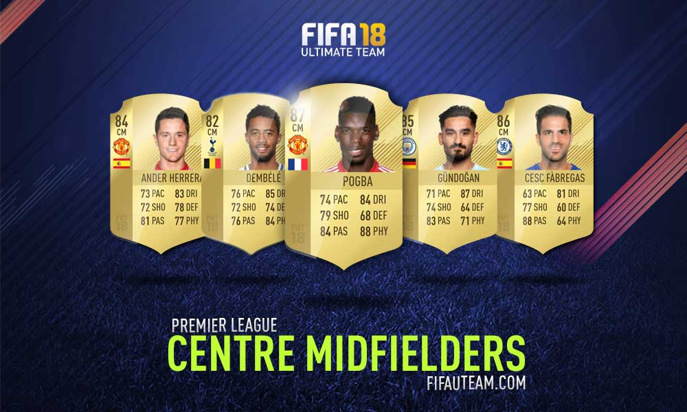 FIFA 18 Premier League Squad Guide - CM