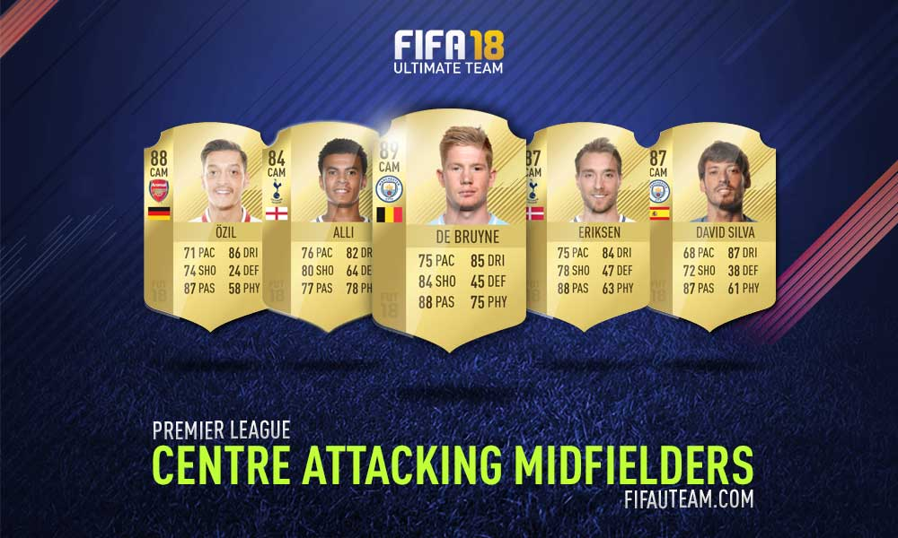 FIFA 18 Premier League Squad Guide - CAM