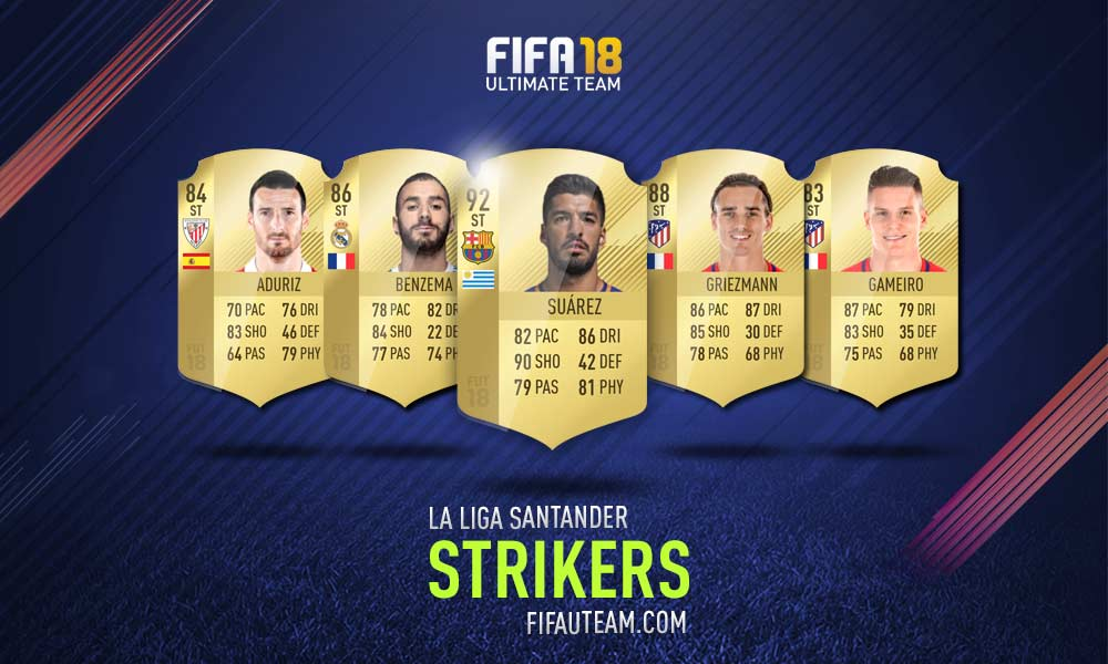 FIFA 18 LaLiga Santander Squad Guide - CF e ST