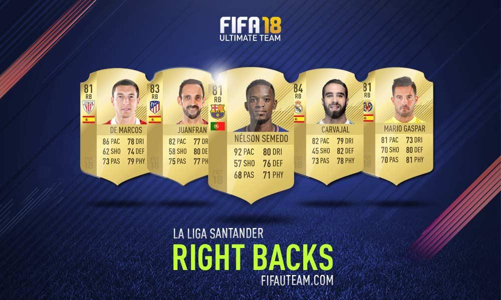 FIFA 18 LaLiga Santander Squad Guide - RB