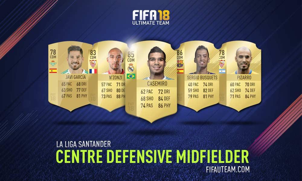 FIFA 18 LaLiga Santander Squad Guide - CDM