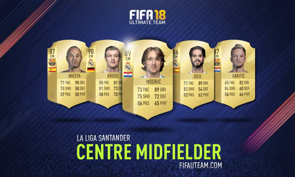 FIFA 18 LaLiga Santander Squad Guide - CM