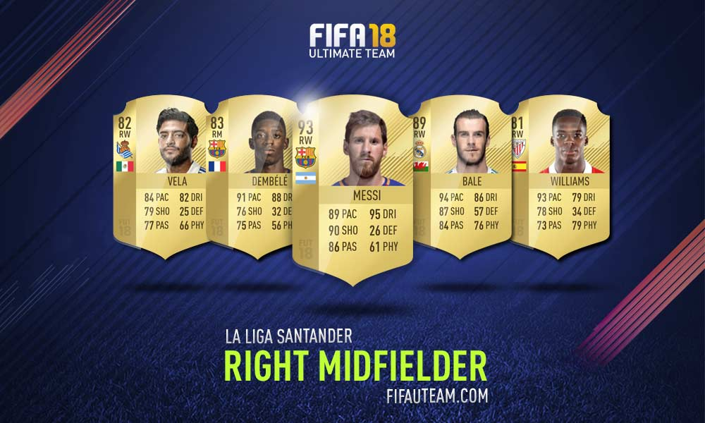 FIFA 18 LaLiga Santander Squad Guide - RM, RW e RF