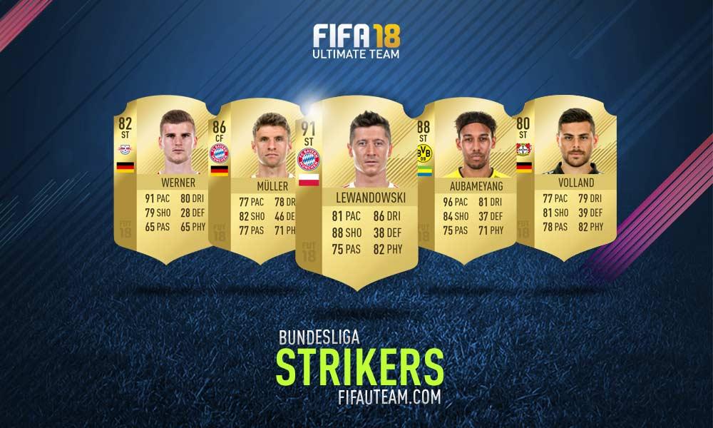 FIFA 18 Bundesliga Squad Guide - CF e ST