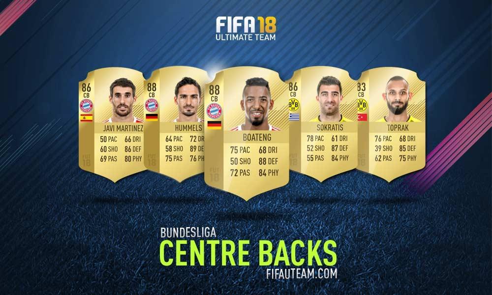 FIFA 18 Bundesliga Squad Guide